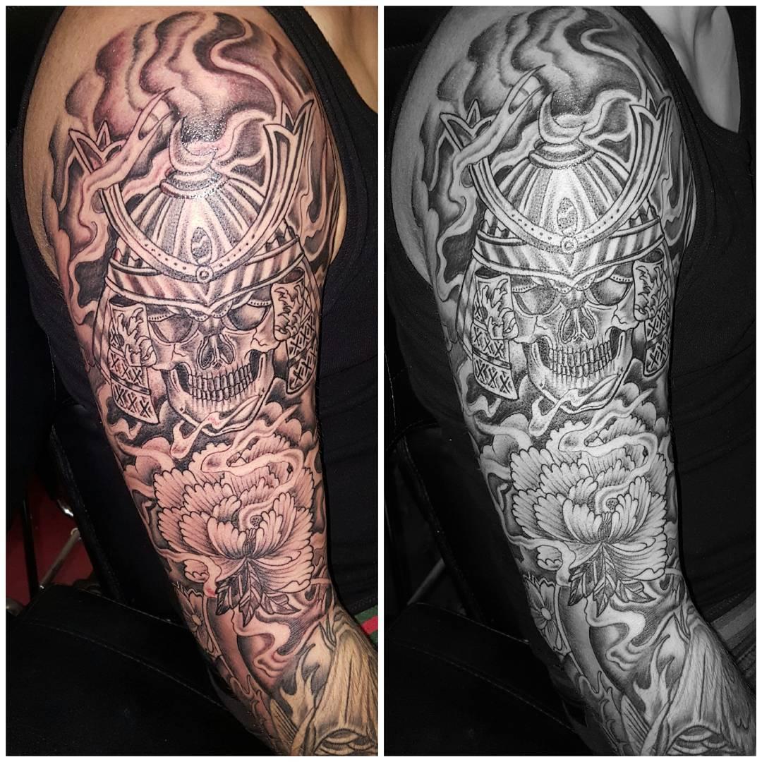 Een marteling van een tattoo?? Respect
