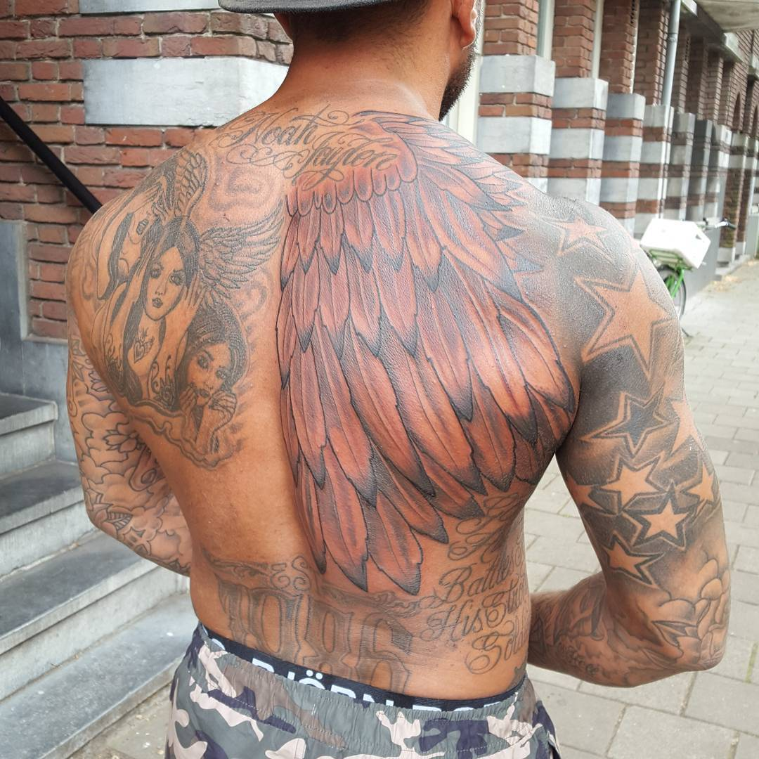 One wing soldier.??