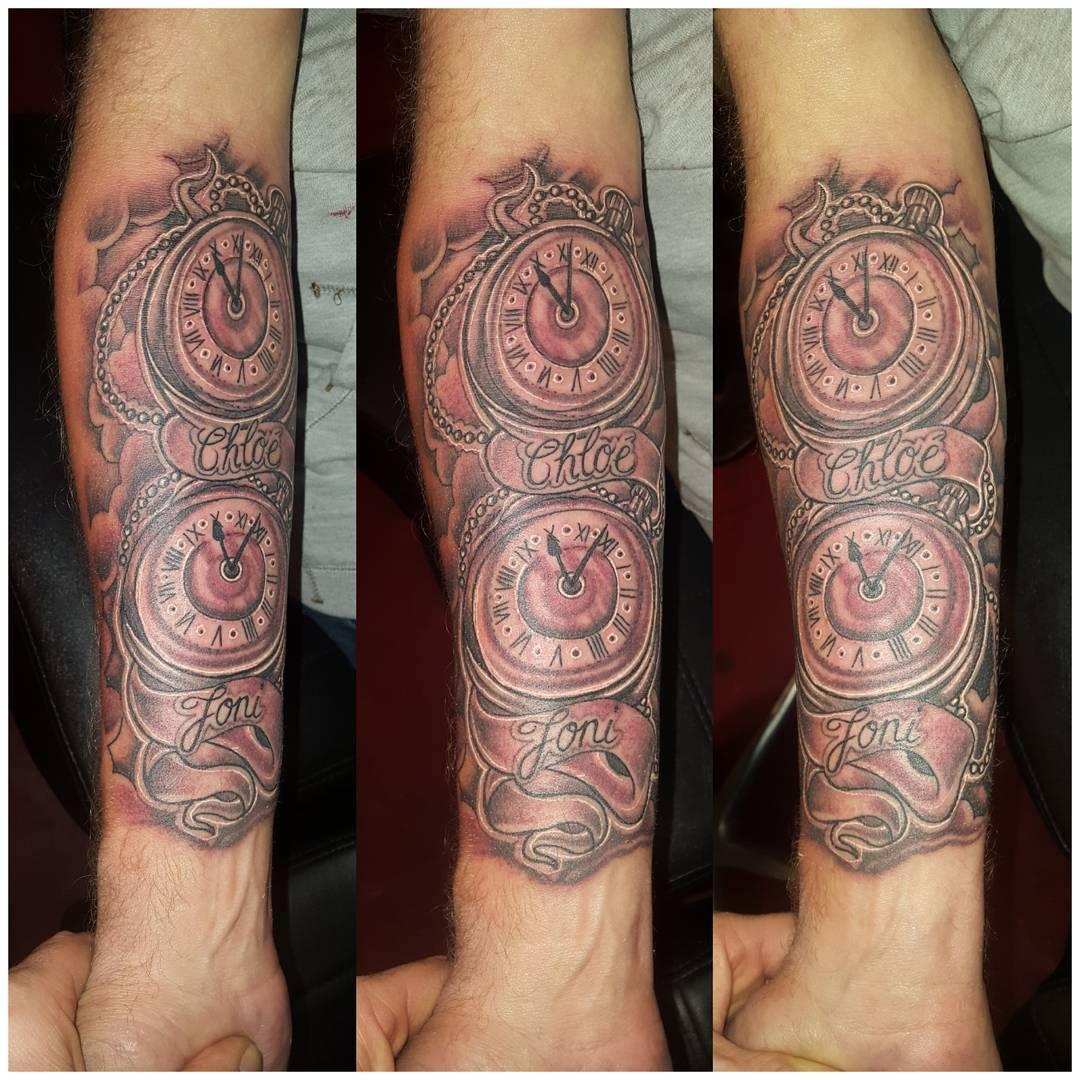 50 jaar en dan je eerste tattoo ??