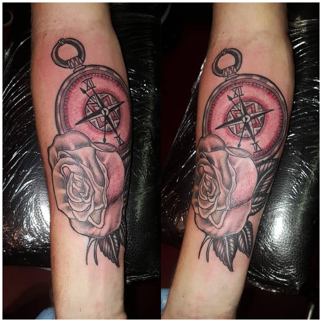 First tatt .took it like a soldier ??