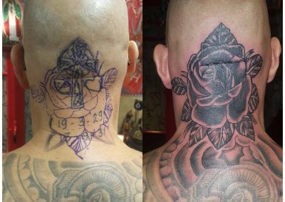 "Triple cover up at Gerrie ""de Beul"" 😎🤘"