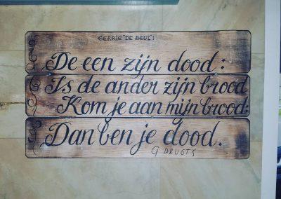 """Quote van Gerrie """"De Beul """".😎🤘"""