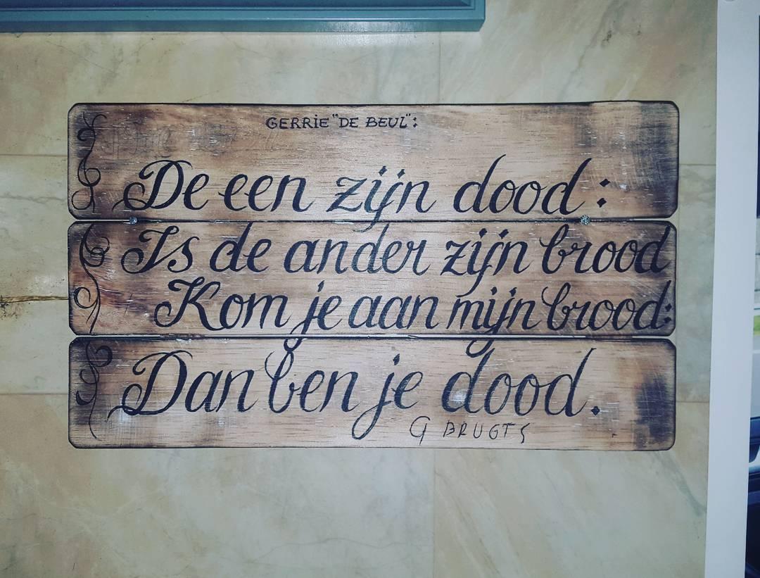 """Quote van Gerrie """"De Beul """".??"""